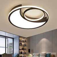 acrylic modern nordic living room ceiling light led bedroom lamp color changing lights led lighting lights led lamp light