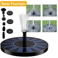 Мини фонтан на солнечной батарее