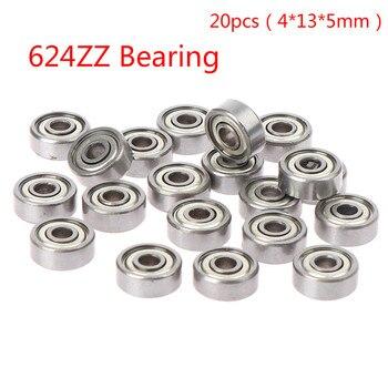 10pc 693ZZ 605RS 605ZZ 698ZZ 624ZZ 694ZZ 695ZZ 696ZZ Miniature Ball Bearings Small Double Shielded - 624ZZ