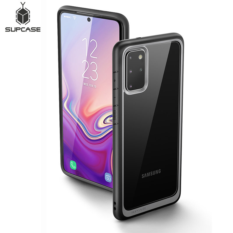 SUPCASE For Samsung Galaxy S20 Plus Case / S20 Plus 5G Case (2020) UB Style Premium Hybrid TPU Bumper Protective Clear PC Cover