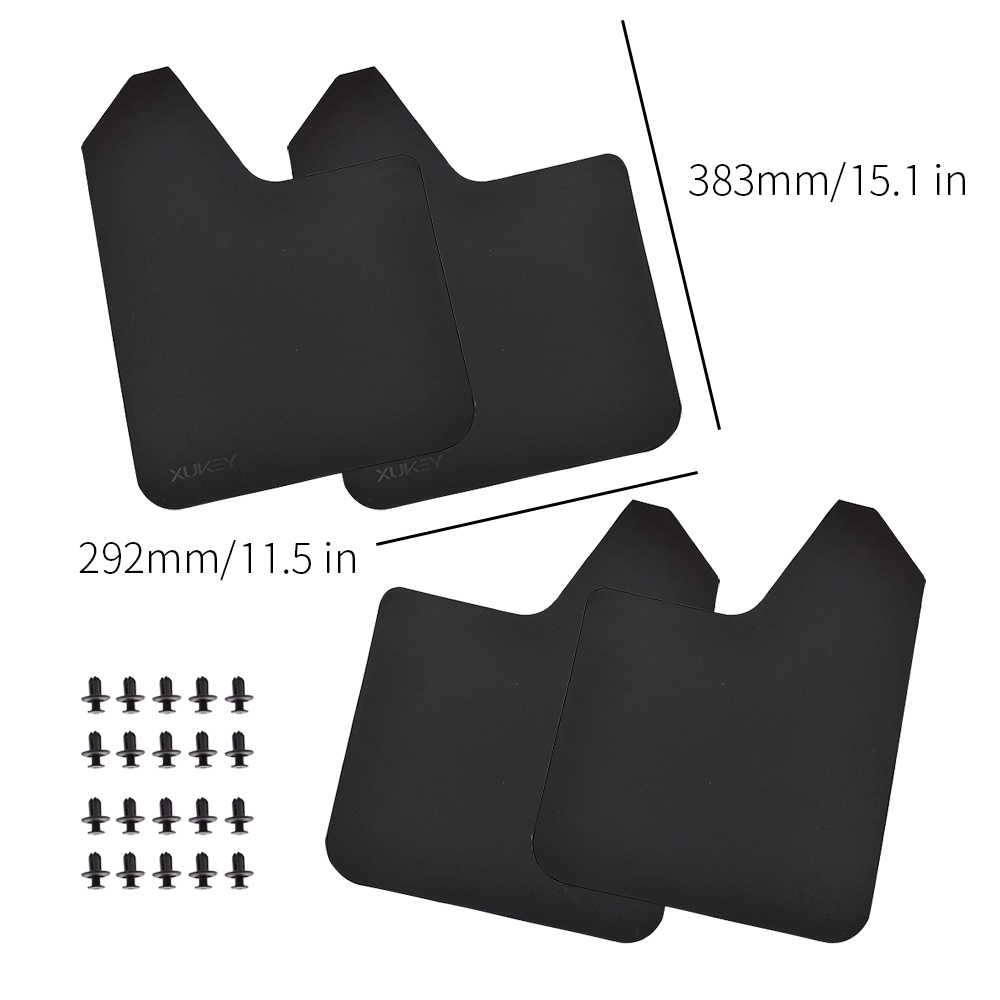 Car mud Flaps for Ford F-150//250//350 2012 2013 2014 2015 2016 2017 Flaps Splash Guard Front and Rear mud Flaps 4pcs