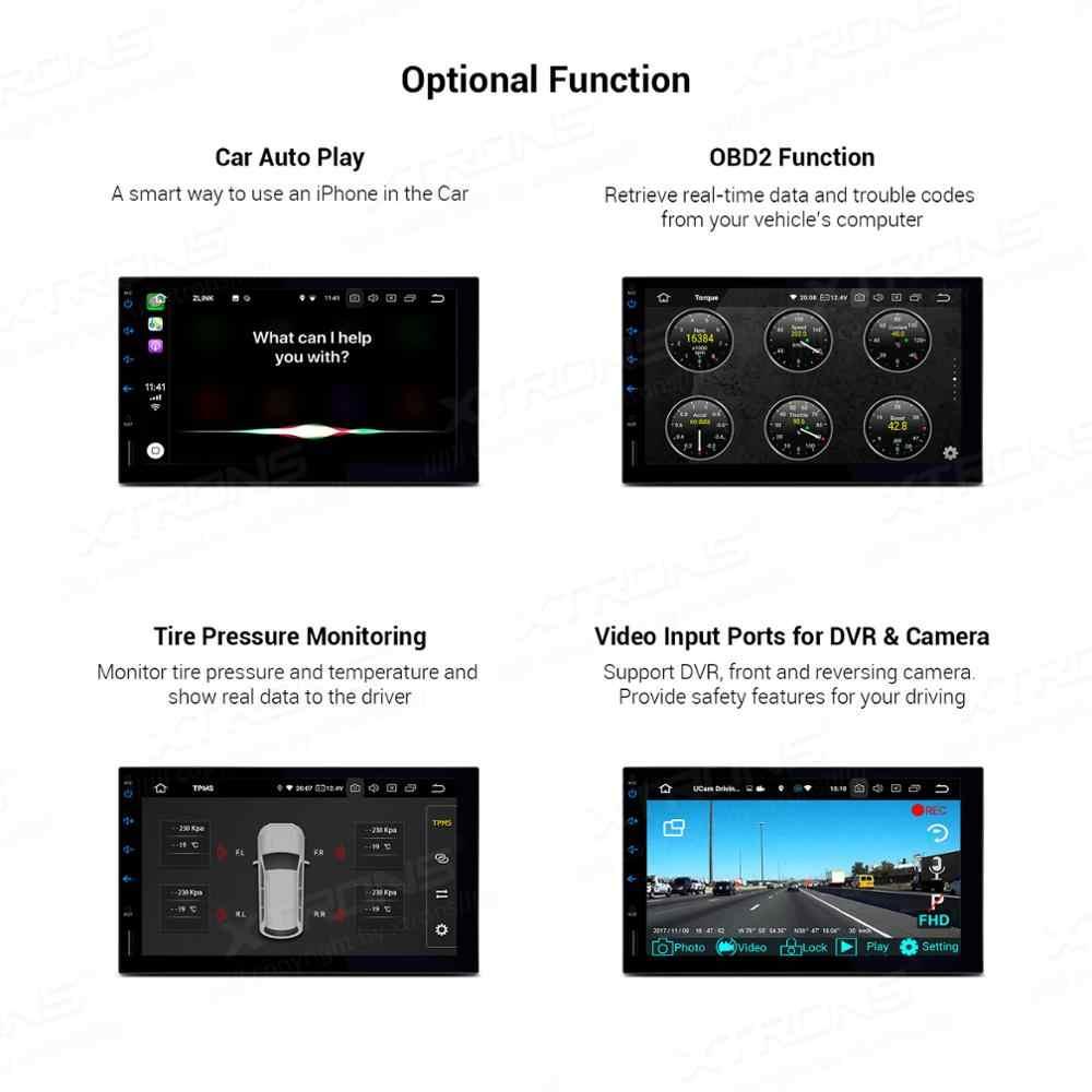 Xtrons 7 ''Android 9.0 PX6 Rom 64GB Stereo Xe Hơi Đầu DVD GPS Dẫn Đường Cho Xe BMW E39 1995 -2003 E38 1994-2001 5 7 Series M5