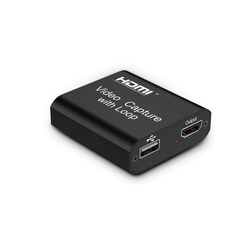 Video Capture Card USB HD HDMI Set-top Box Laptop Switch/PS4 Game Capture Card Video Captures Cards
