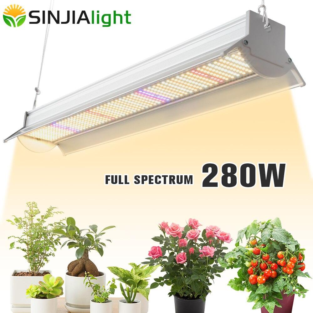 Светодиодная лампа полного спектра для выращивания растений, 280 Вт, 560 светодиодный