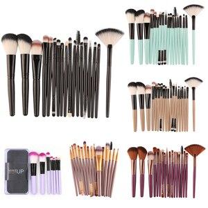7/15/18 Pcs Makeup Brushes Set