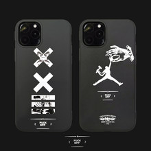 New jordan sport brand Soft off ow cover case for iphone11 11pro 11 pro max X XR XS MAX 7 7plus Phone Cover Cases Coque Shell(China)