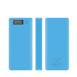 8*18650 Батарея Держатель двойной USB Мощность банк Батарея коробка мобильный телефон Зарядное устройство DIY корпус чехол для хранения с функци...