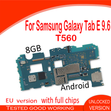 Unlocked Samsung Android Galaxy Original for Tab-E with Full-Chips-Fee T560-Card Official