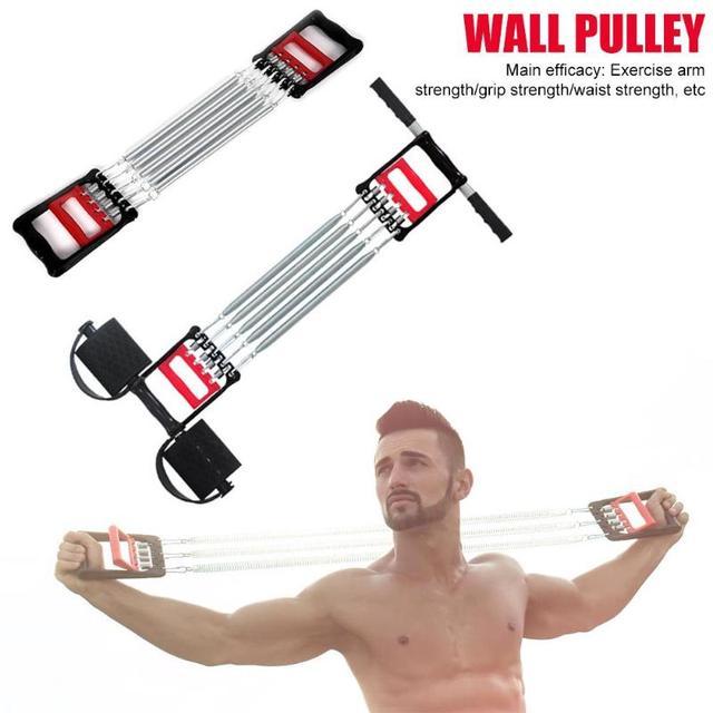Spring Chest Developer Expander Men Fitness Tension Puller Fitness Equipment 3