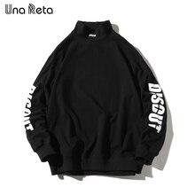 Hoodie Sweatshirt Una Reta Tracksuit Pullover Harajuku Man Streetwear Casual Tops Men