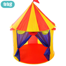AAG Children's Tent Hut Kids Baby Teepee Cabin House for Child Play House Game Tent Lodge Wigwam Princess Castle Baby Tents