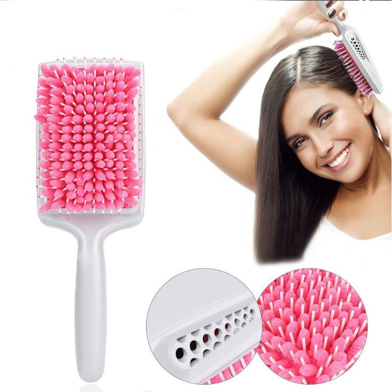 Magic Fast Drying Hair Towel Comb Air Cushion Massage Brush Anti-static Dryer Combs