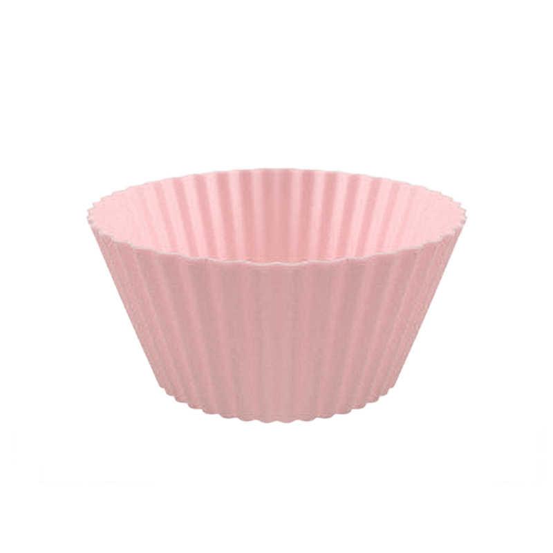 カラフルなシリコーン金型ラウンドケーキカップマフィンパーティートレイ耐熱皿スタンドカップケーキケースライナーウェディングパーティーの装飾焼くツール
