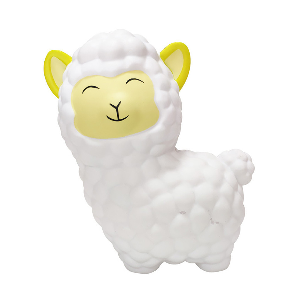 Exquisite Cartoon Sheep Slow Rising Stress Reliever Toy Depression Depressable Vent Toy Eliminate Antistress Finger Pets Toy #D