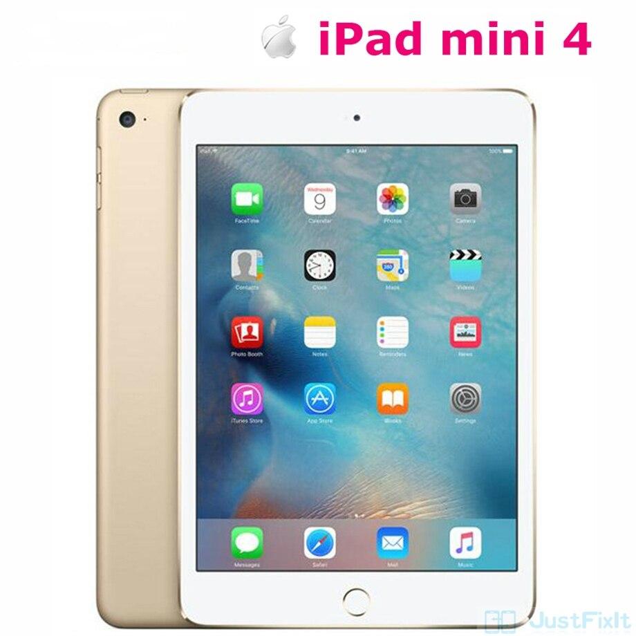 Оригинальный ремонт Apple iPad mini 4 завод разблокированный планшет WIFI версия 7,9