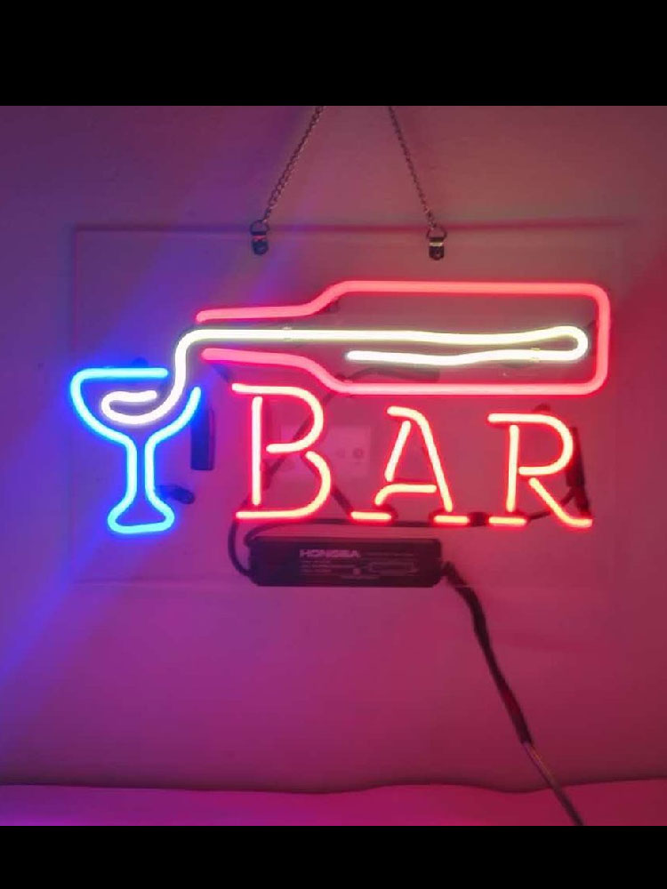 Neon Sign Bar Pour Beer vintage neon sign Beer Bar WALL Pub Handcrafted neon signs for ROOM window home custom Iconic Sign Art image