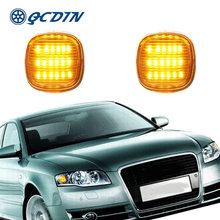 Qcdin 2 шт для audi a3 8l 1997 2003 световой сигнал поворота