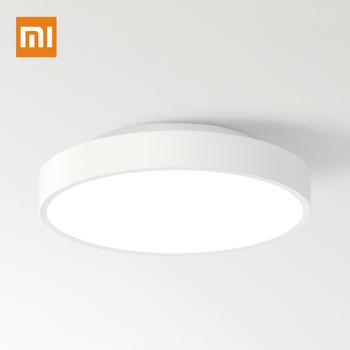 Xiaomi mijia Yeelight lampa sufitowa IP60 pyłoszczelna WIFI i bezprzewodowy pilot zdalnego sterowania Bluetooth tanie i dobre opinie 20 Metrów 10-15square KİTCHEN Do jadalni Do sypialni foyer do nauki BATHROOM 90-260 v Brak WHITE Z aluminium Żarówki LED