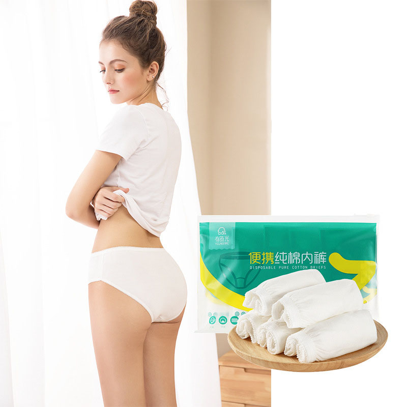 Disposable Travel Necessities Disposable Cotton Underwear Disposable Compressed Towel Toilet Mat Accessories Hotel Supplies