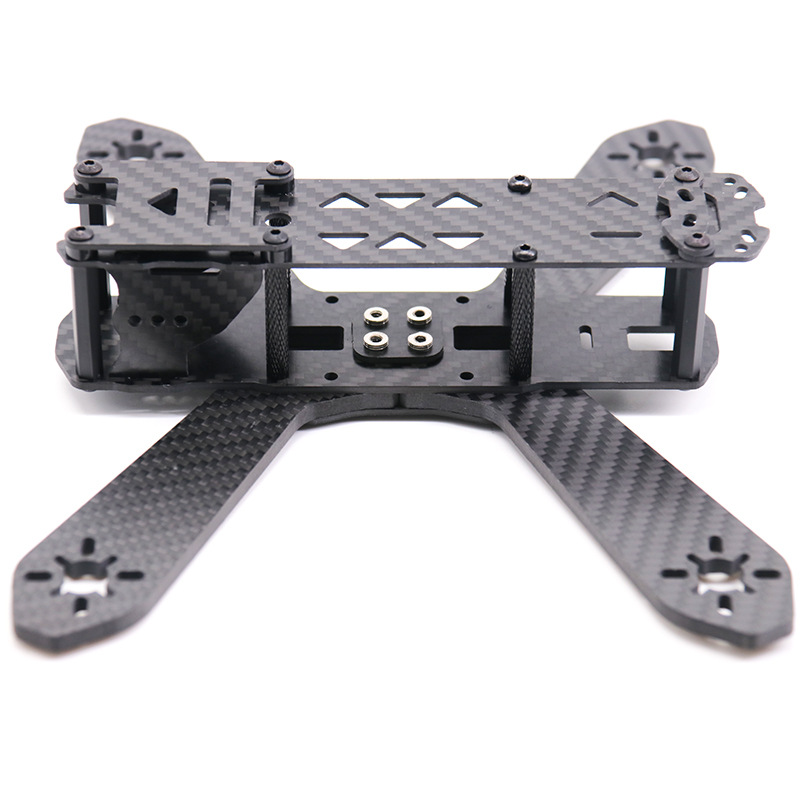 Are Jumping Rd210 Carbon Fiber Through Machine Bracket FPV Remote Control Four-axis Racing Game Unmanned Aerial Vehicle