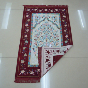Image 2 - Hồi Giáo Cầu Nguyện Thảm Hồi Giáo Cầu Nguyện Thảm Di Động Gấp Gọn Tiếng Ả Rập Sejadah Thảm Thảm Họa Tiết Ngẫu Nhiên
