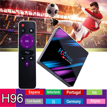 TV box H96 MAX RK3318 Android tv