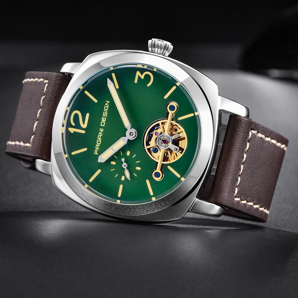 high quality PAGANI DESIGN Luxury Tourbillon Mechanical Watches Luminous Genuine Leather Fashion Casual Skeleton Automatic Watch free dropshipping (22)