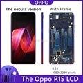 Для OPPO R15 ЖК-дисплей экран в полной комплектации сенсорный дигитайзер сборка для R15 Dream Mirror Edition / R15 DME 4G + сенсорный экран