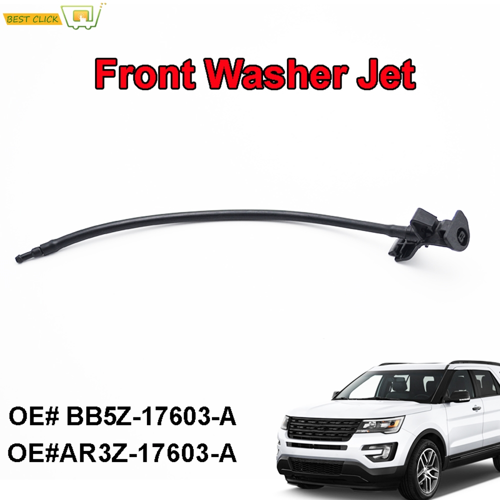 FIT For Ford Explorer 2011-2017 ABS Chrome Rear Window Rain Wiper Cover Trim