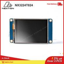 Nextion NX3224T024   2.4 HMI ذكي شاشة إل سي دي تعمل باللمس USART TFT LCD MCU إلى TTL وحدة العرض