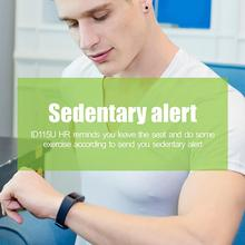 ID115U PRO Smart Bracelet Sleep Monitoring Black Technology Waterproof Bluetooth Sports Bracelet Smart Watch все цены