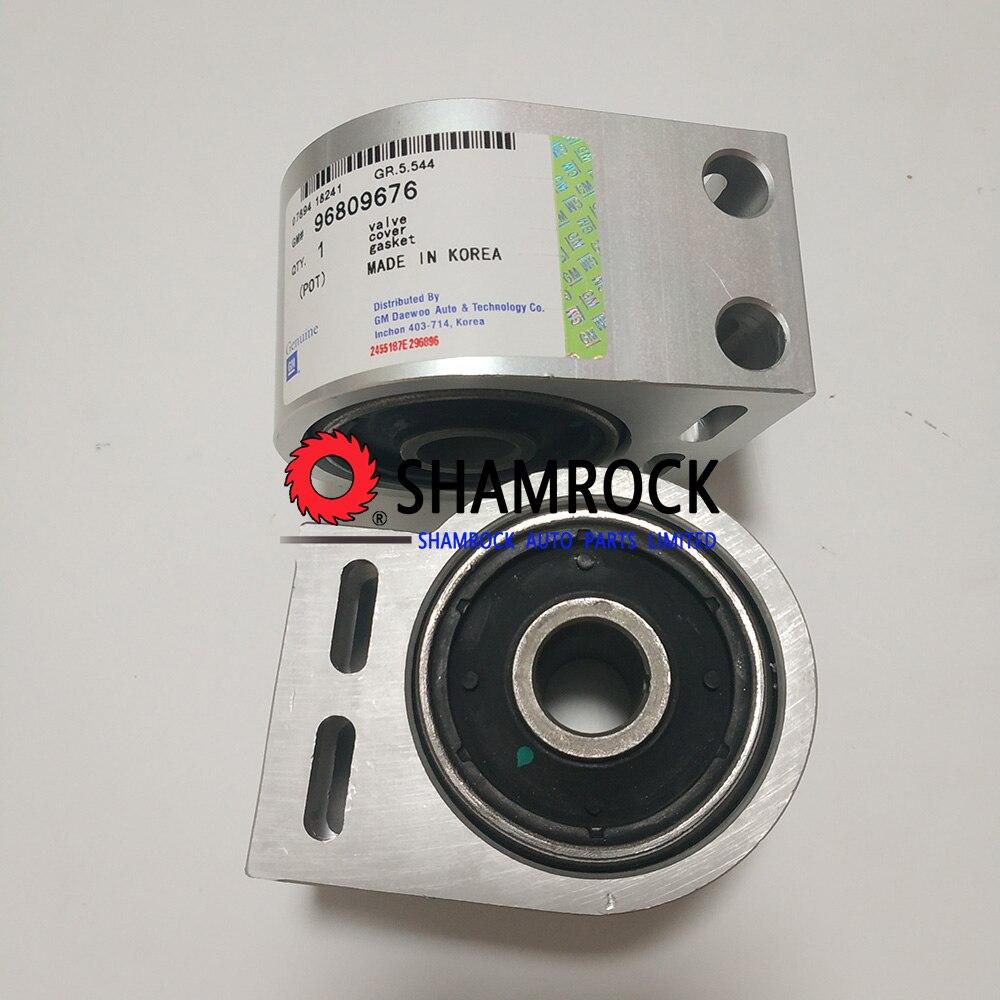 For BMW X5 E53 REAR AXLE LOWER SWING TRAILING CONTROL WISHBONE ARM BUSHES PAIR