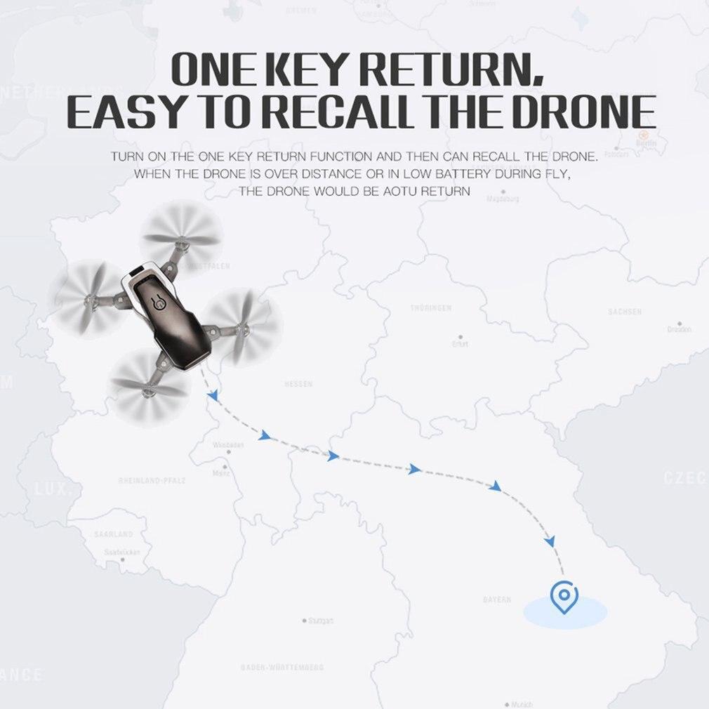 LF606 Quadrocopter Mini Drone Mit 720P Kamera FPV Profesional HD Faltbare Kamera Drohnen Höhe Halten Kinder ChristmsToy
