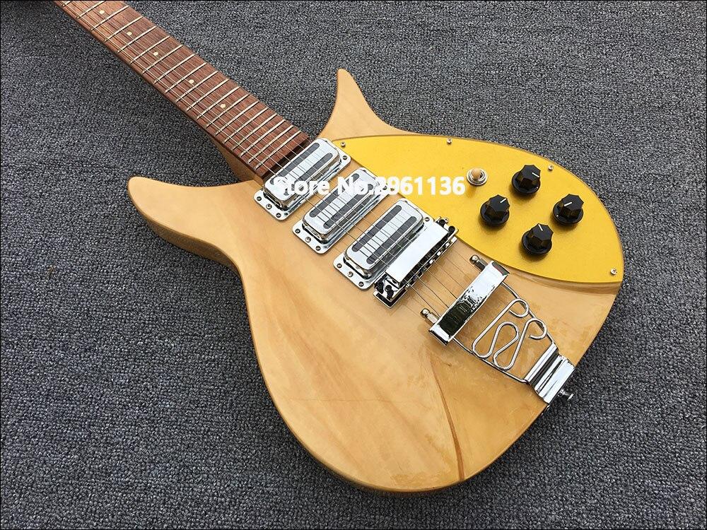 Guitare électrique de haute qualité, guitare électrique Ricken 325, Backer34 pouces, protection de sélection monocouche dorée, livraison gratuite