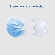 Free DHL Disposable Anti Virus Face Masks 3-Ply Medical N95 Safely Mask Surgical Mask Pm2.5 Apply Dust Adult Filter Masque Mouth