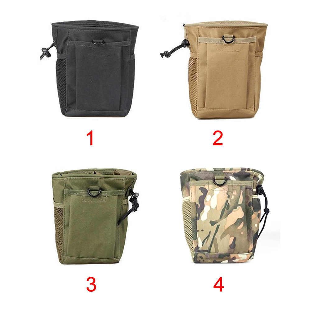 Senderismo multipropósito cordón al aire libre Camping Digger bolsa paquete de la cintura encuentra bolsa resistente al desgaste impermeable detector de metales