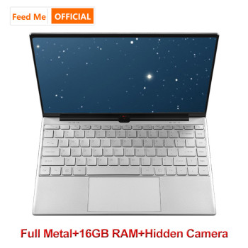 14.1 Inch Metal Shell 16GB RAM M.2 SSD Laptop Intel 3867U Private Camera Notebook Dual Band WiFi BT Narrow Bezel for office game 1
