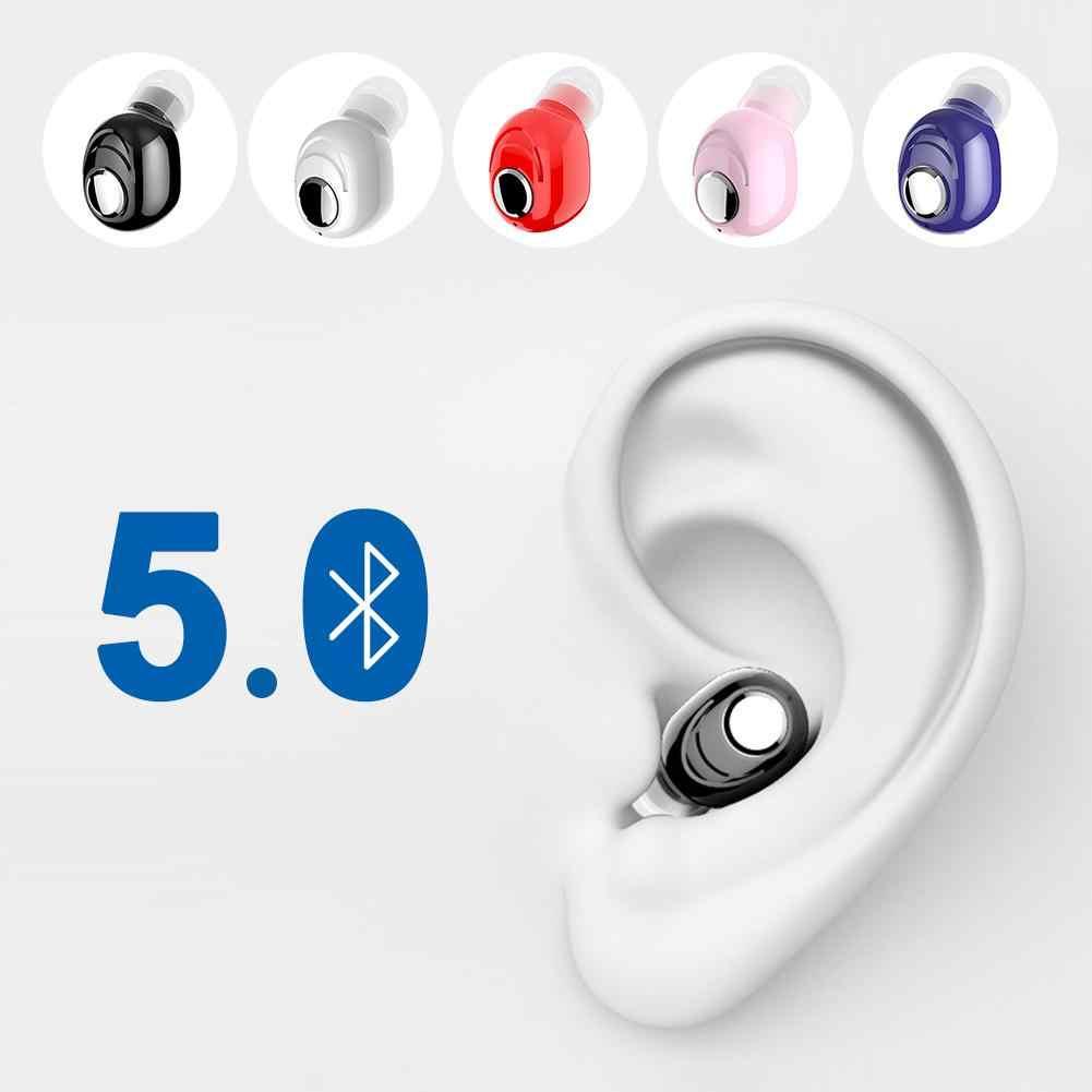 Mini bezprzewodowa Bluetooth 5.0 słuchawki douszne Stereo muzyka słuchawki douszne IPX5 wodoodporne słuchawki dla iPhone Huawei Android PK S530