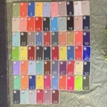10 pièces/original Étui En Silicone Pour Téléphone Portable 12 Pro Max 12Mini 6s 7 8 Plus X XR XS MAX 11 Housse