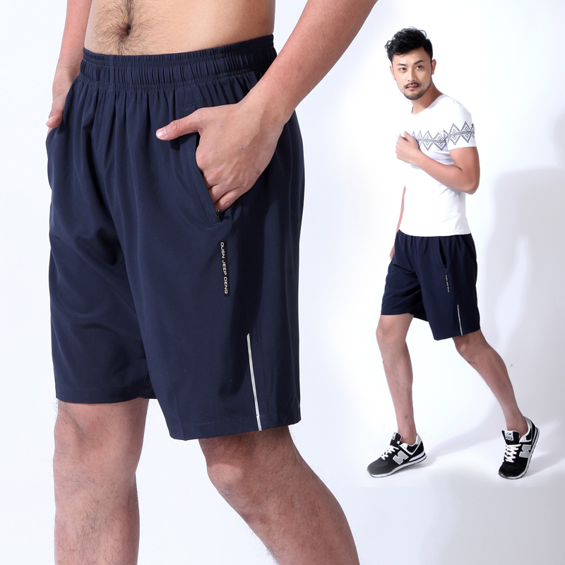 Summer Shorts Men Fast Dry Sports Shorts Quality Beachwear Male Short Pant Breathable Elastic Waist Fashion Straight Boardshorts