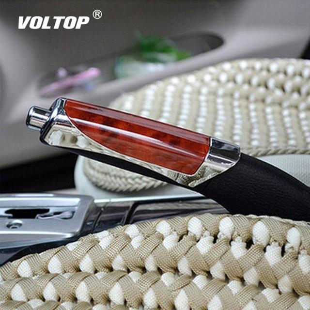 Universal Fashion Gears for Decorations Wooden Anti slip Handbrake Covers Auto Gear Shift Collars