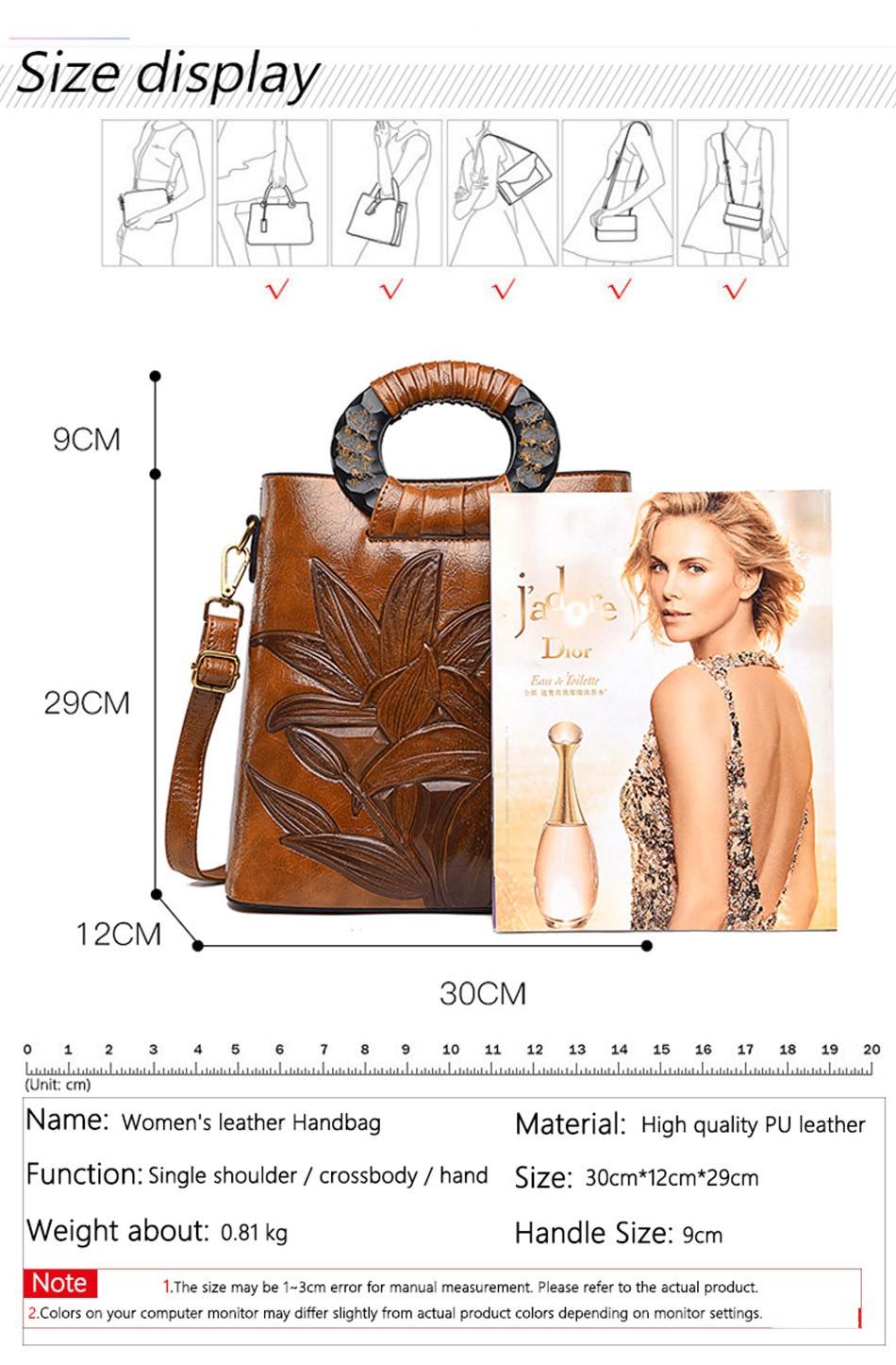 Alta qualidade feminina bolsa floral bolsas de