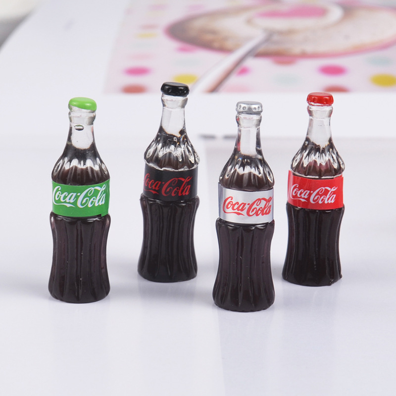 Resin Mini Drink Bottle Super Light Clay Clear Slime Accessories Additives In The Slider DIY Creative Epoxy Decoration Materials