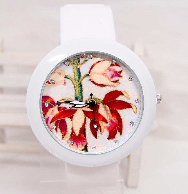 Luxury Brand Fashion Quartz Watch Women Ladies Casual Bracelet Silicone Wristwatch Clock Relogio Feminino Female