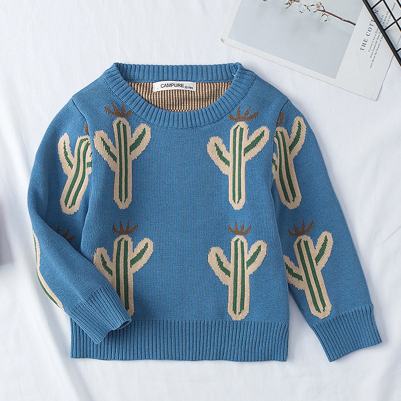 1-6Yrs New 2020 Boy Girl Long Sleeve Loving Heart Knitted Sweater Autumn Winter Boys Girls Sweaters For Baby Girls Kids Sweater 17
