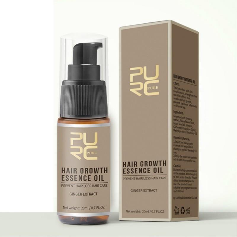 7 дней эссенция для роста волос Восстановление поврежденных волос эфирное масло лечение продукты для выпадения волос