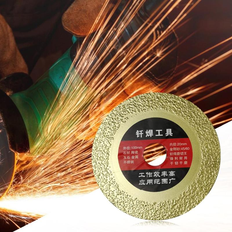 Durable Rotary Diamond Saw Blade Circular Multi-purpose Tools For Porcelain Tile Ceramic Dry Cutting Aggressive Disc