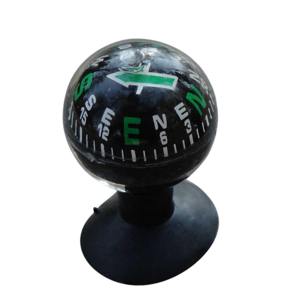 Mini Auto Car Compass Ball Mount Dashboard Boat Truck Suction Pocket Navigation