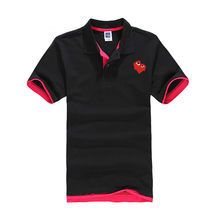2019 new cotton polo shirt men brands play love sports tee shirt femme ventilate Summer with breathable short sleeves(China)
