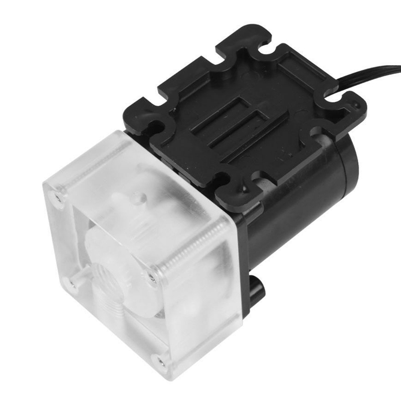 12V 0.8A 10W G1/4 Thread Low Noise Water Pump for CPU PC Computer Cooling System 4